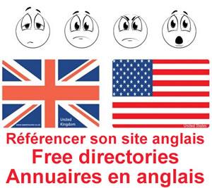Annuaire referencement gratuit anglais américain